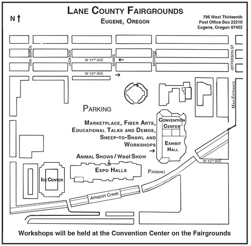 Lane County Fair Grounds (1960s to Present)